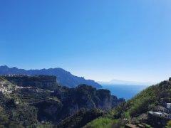 View on Amalfi and Ravello